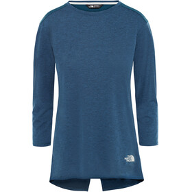 The North Face Inlux - Camiseta manga larga running Mujer - azul